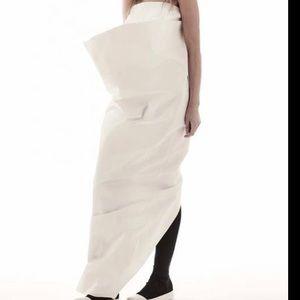 NWT Rick Owens THAYAHT Strapless Dress size 38 IT